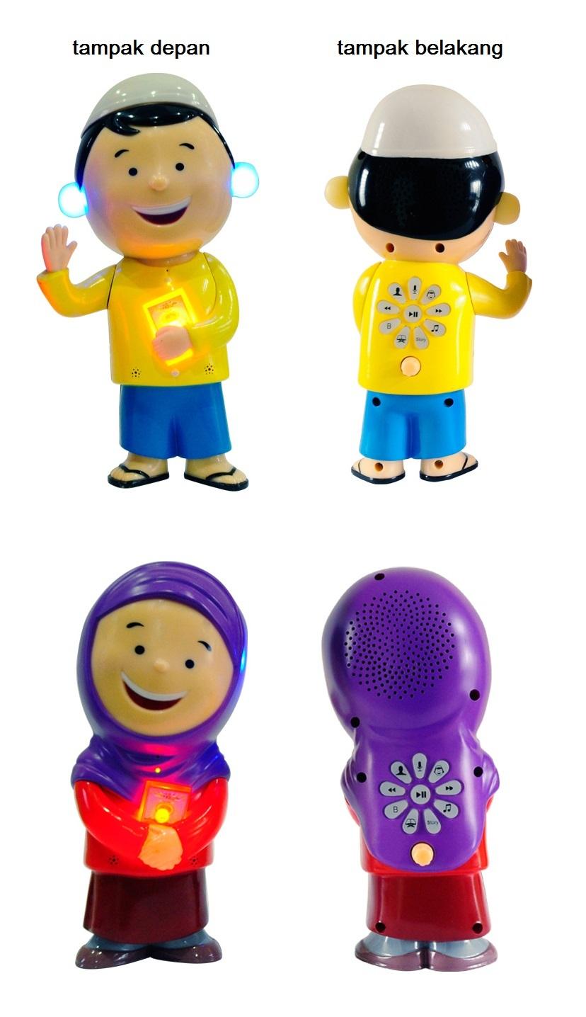 ... Al Qolam Hafiz Talking Doll - Boneka Bisa Mengaji dan Berbicara ...