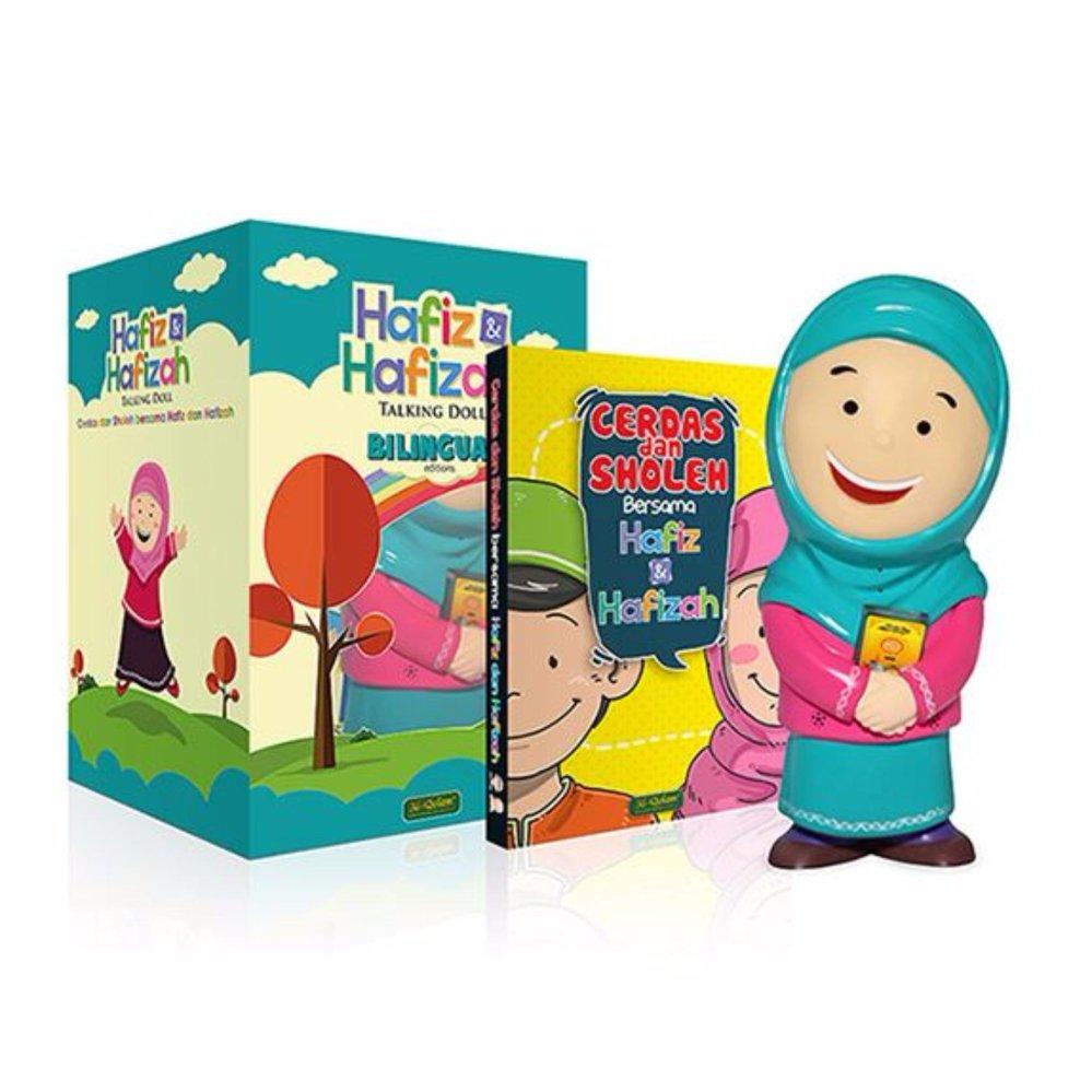 ... Al Qolam Hafizah Talking Doll Boneka Edukasi Bisa Mengaji (Orange) ...