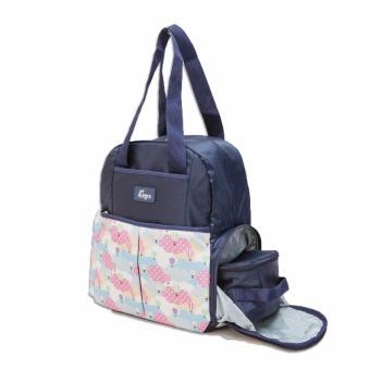 Allegra Charlie Cooler Diaper Backpack