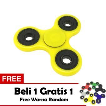 Belanja murah ANGEL Fidget Spinner Hand Toys Mainan Tri Spinner EDC Ceramic Ball Focus Games