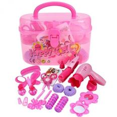 makeup kits for little girls. arshiner little girls pretend play makeup kit diy plastic set toy with storage box - intl kits for h