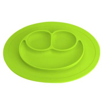 Baby Cute Silicone Plate Silicone Mats Children's Mats Easy to Clean Silicone Pad Infant Food Box