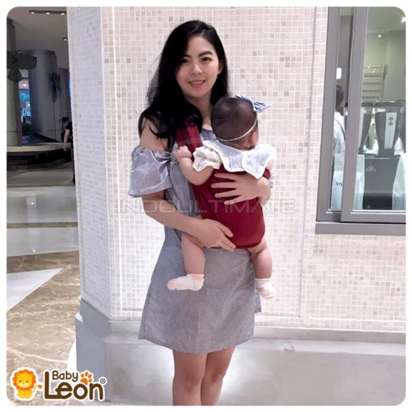 Baby Leon Gendongan Bayi Kaos Geos Selendang Bayi Praktis By 44 Gb Source .