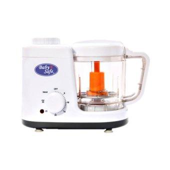 ... Baby Safe Food Maker Mesin Steam Dan Blend Penghalus Makanan Putih