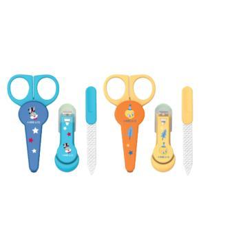 Baby Safe Manicure Set - Gunting Kuku Set Bayi Motif BLT - Kuning