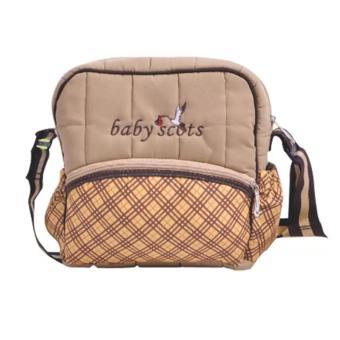 Baby Scots Berry Bag Brown - Tas Perlengkapan Bayi
