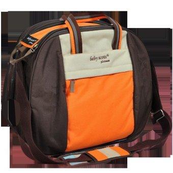 Baby Scots Platinum - Mommy Bag 04 - Orange