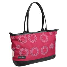 Baby Scots Platinum - Mommy Bag 15 - Maroon