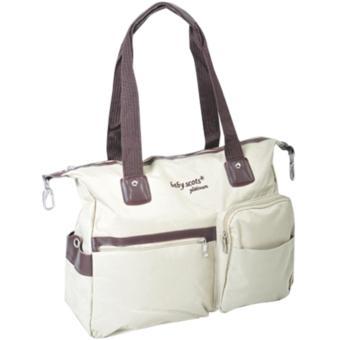 Baby Scots Platinum - Mommy Bag 36 - Khaki