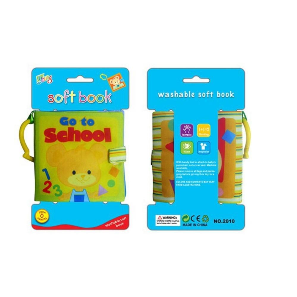 Diskon Penjualan Baby Talk Softbook Go To School Buku Cerita Mainan Shopping Comparison Anak Bukuedukasi Bayi Murah Edukabuku Pintar