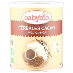 Babynat Organic Infant Cereal Cocoa 220gr