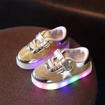 BELI SEKARANG Baobao lembut bawah anak-anak dengan lampu berkedip dengan sepatu ringan sepatu Klik di sini !!!