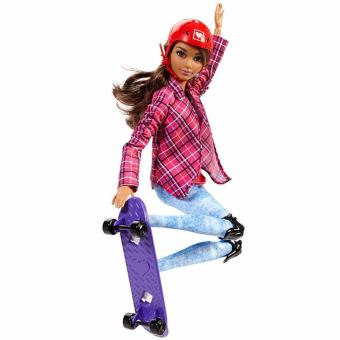 Barbie(R) Active Sports Doll - Skate Boarder