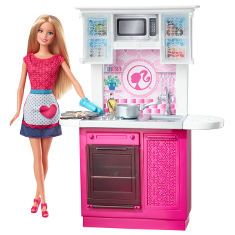 Barbie(R) Doll and Deluxe Kitchen