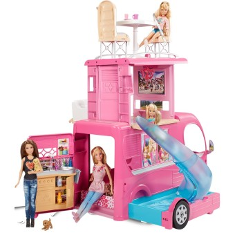 Barbie(R) Pop-Up Camper