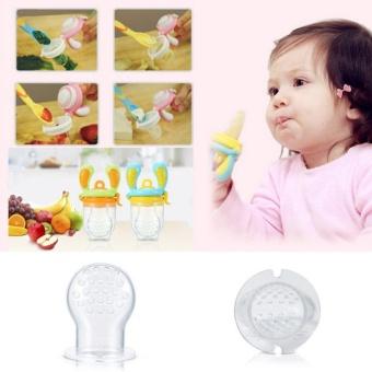 Baru Aman Baby Fresh Food Jus Buah Susu Silikon Sayang Pengumpan Makan Alat M Ukuran