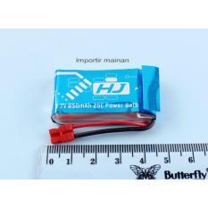 baterai lipo SYMA X5HW 850mAH lipo battery 1s 3.7V rc drone SYMA X5HW