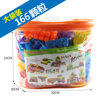 Jual Bayi anak-anak kebesaran partikel blok bangunan blok bangunan plastik  mainan Terpercaya 06da613e83