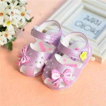 Bayi Baobao musim panas ayat anak-anak perempuan sandal berongga