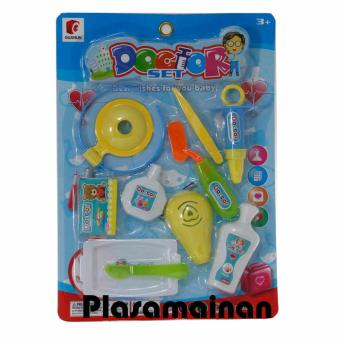 BB Mart Doctor Set Mika Ages 3+ Model B - Mainan Dokter Dokteran