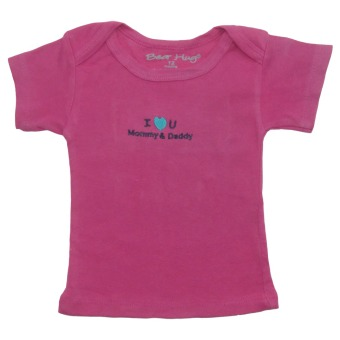 Bearhug 5-Piece Top For Baby Girl - Pink - 4