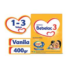 Bebelac 3 Bebenutri Plus Susu Pertumbuhan - Vanila - 400 gr