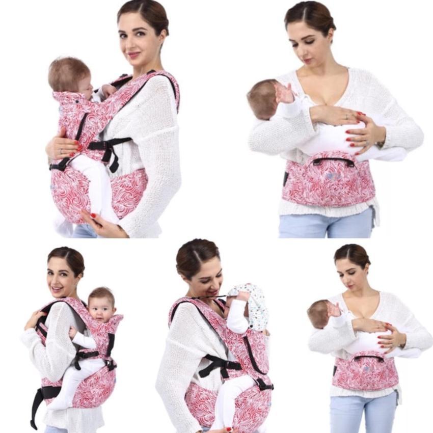 BeCute Premium Hip Seat Baby Carrier Gendongan Bayi 6in1 TQ010 .