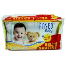 Beli 1 Gratis 1 PASEO Baby Wipes Original Tisu Tissue Basah @50 Lembar