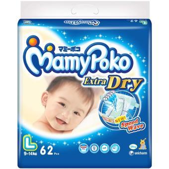 Best Deals - MamyPoko Popok Tape Extra Dry - L 62