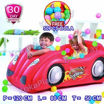 Bestway Mandi Bola Train Play Center 50pcs Bola Daftar Update Source Bestway Inflatable .