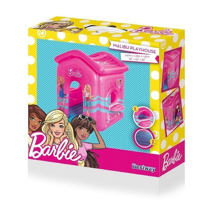 Bestway Play House Barbie 150cm Tenda Angin Rumah Mainan Anak 93208 .