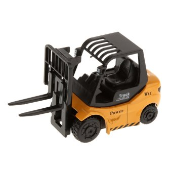BolehDeals 1:64 Diecast Forklift Truck Model Construction VehicleCar Kids Toys (Intl) - intl
