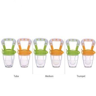 BolehDeals Baby Pacifier feeding Fresh Food Supplies Safe Nibbler Feeding Tool Yellow L - intl ...