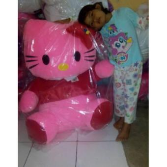 Boneka Hello Kitty Duduk Jumbo