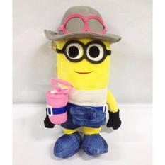 Boneka Minion Topi Abu2