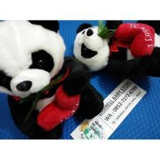 Boneka Panda Love / Kado Hadiah / Souvenir Cantik