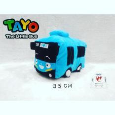 Boneka Tayo the little bus M biru istimewa