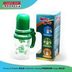 Botol Susu Regulator Bayi Premium Tahan Panas Anti Pecah With Handle 140ml - 809