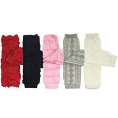 Bowbear Set 5 BABY & Balita Leg Warmer Koleksi Premium Value Pack, VS3-Intl