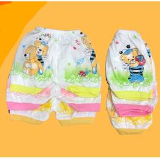 Celana pendek Bayi isi 6 pcs MELODY umur 3-12 bulan/celana santai/celana rumah/anak laki-laki/anak perempuan