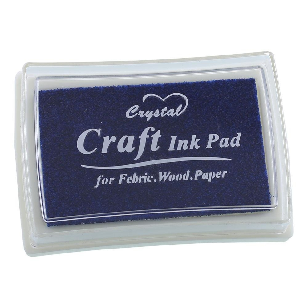 Cool baby 14 color Inkpad Oil Based Ink Pad Rubber Stamps Paper Wood Craft Fabric -