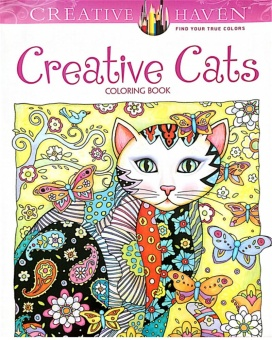 Harga Creative Haven Cats Colouring Book For Adults AntistressColoring Secret Garden Series Adult Coloring