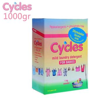 Cycles Mild Laundry Detergent Powder 1000 Gr(...)