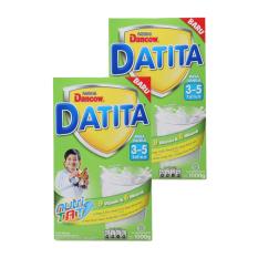 DANCOW DATITA Nutri TAT Vanila Susu Pertumbuhan 3-5 Tahun Box 1kg - Bundle Isi 2 Box