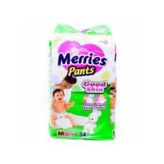 Dapat 2 Pack Merries Pants Good Skin M 34