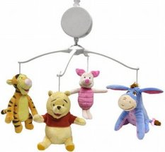 Disney Baby Musical Mobile (Pooh & Friends) Mainan di Box Bayi