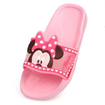 Disney bersol lembut untuk anak perempuan non-slip sepatu, sandal dan sandal