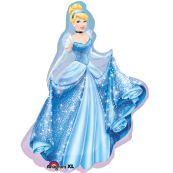 REVIEW Disney gaun pesta ulang tahun dengan rambut panjang balon aluminium TERLARIS