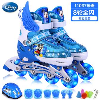 Jual Disney penuh anak laki-laki dan perempuan skating sepatu sepatu roda  anak Online a259512266