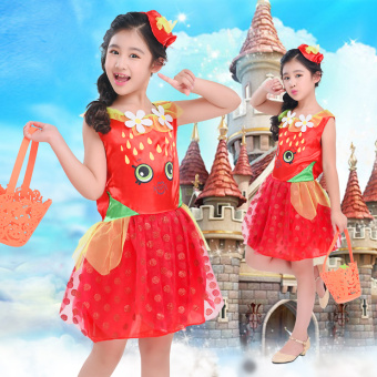 Disney Putri Halloween perempuan untuk anak perempuan anak-anak pakaian pakaian